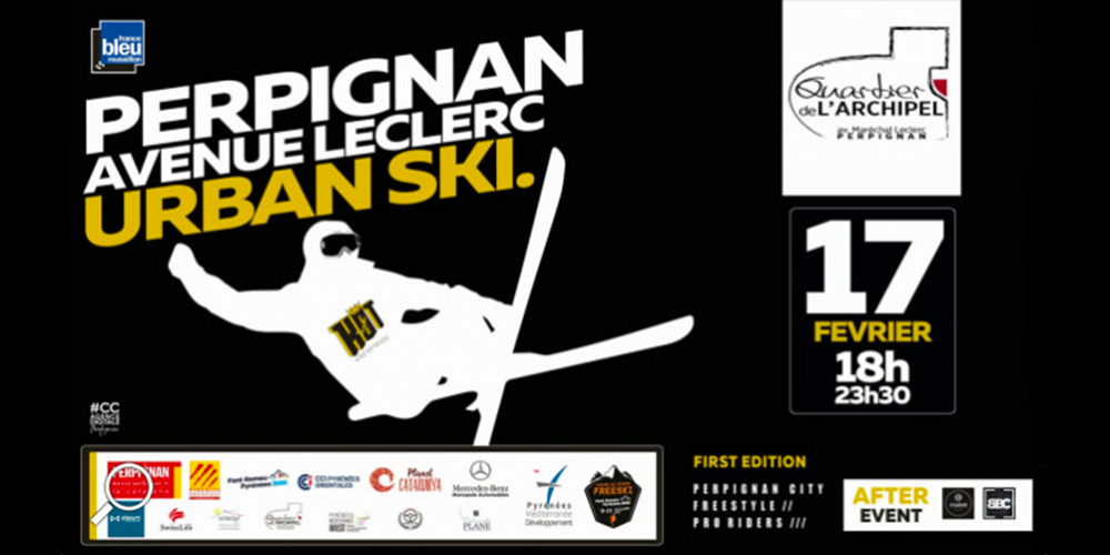 Cabinet Plane : Sponsor de l' Urban Ski à Perpignan