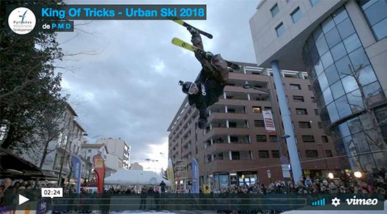 Vidéo KOT Urban ski à Perpignan